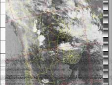 NOAA 19 06/03/15 05:42 UTC - 137.100 MHz