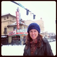 On Hawthorne, the Bagdad theater