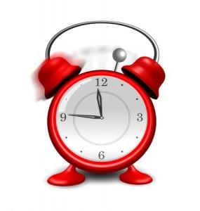 clock alarm sleep wake wait