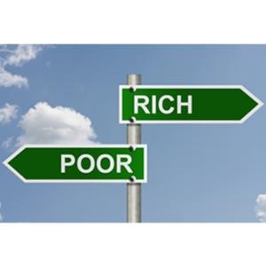 rich poor wealth income gap