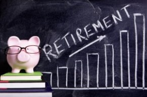 Piggy Bank with retirement savings super message