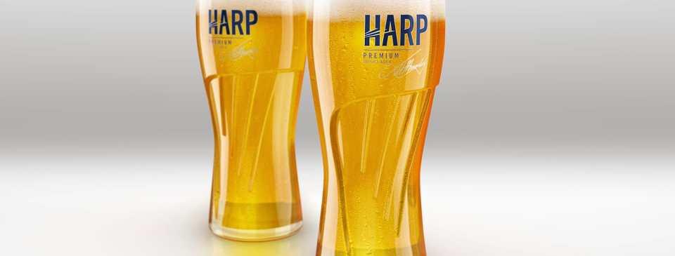 Lager «Harp» ирландский паб Дублин ресторан Оренбург