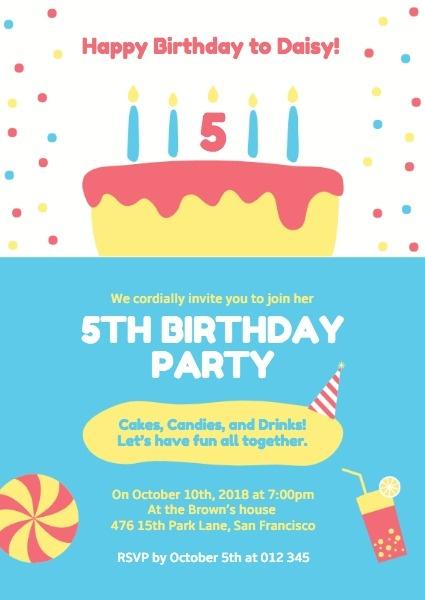 make birthday invitation cards online
