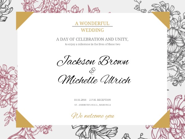 Wedding Card Design Online