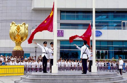 (圖文)想不到 香港人這樣看國慶 - 萬維讀者網
