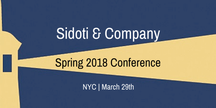 Sidoti & Company Spring 2018 Conference.png