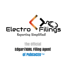 Official EDGAR/XBLR Filing Agent