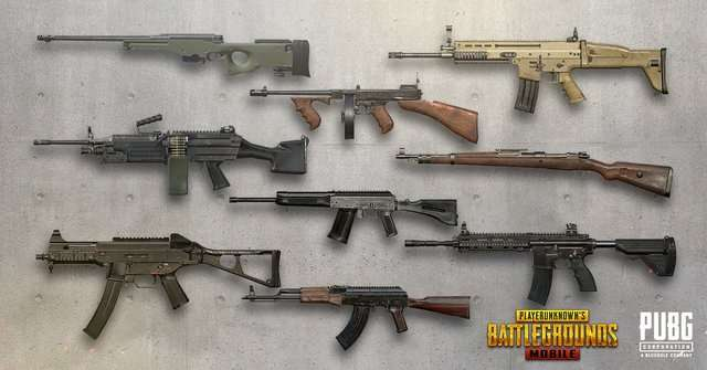 Best PUBG Guns Combination - To Play and Survive Till The Last Circle - Some Killer Tips 1