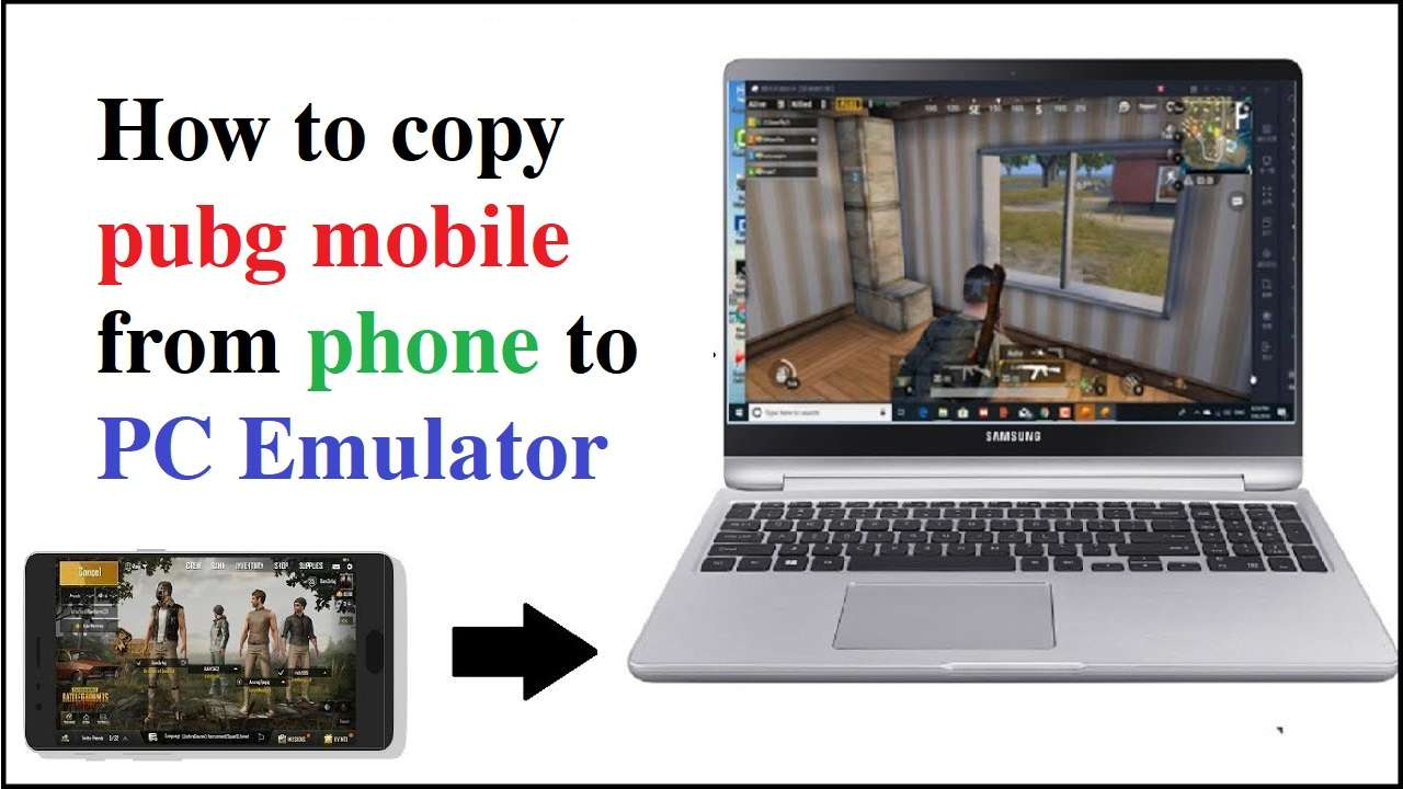 How To Copy PUBG Mobile From Phone To PC And PC To PC - For Tencent