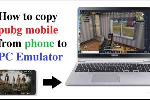 copy pubg mobile from phone to pc