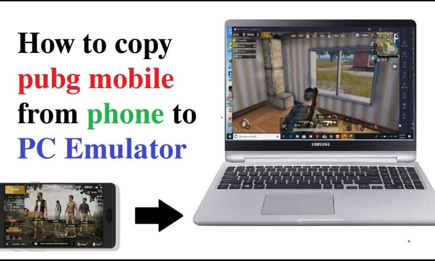 How To Copy PUBG Mobile From Phone To PC And PC To PC - For