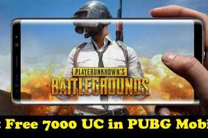 Get Free 7000 UC in PUBG Mobile Account [100% Working, No Trick Needed] 1
