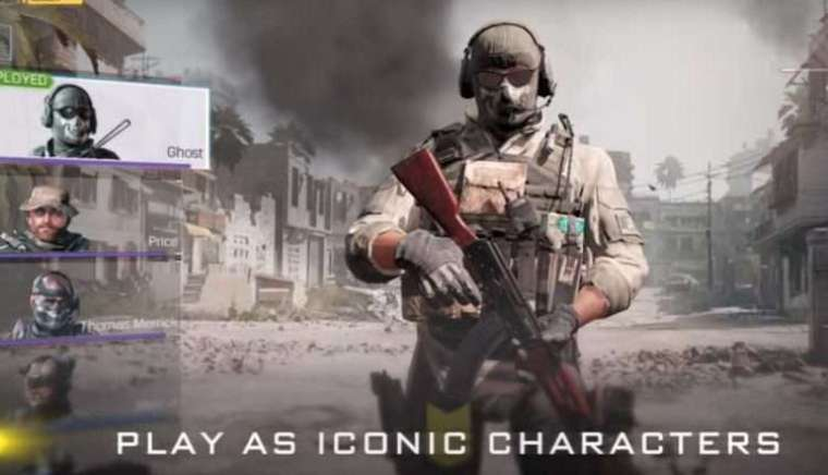 COD Mobile Players Character
