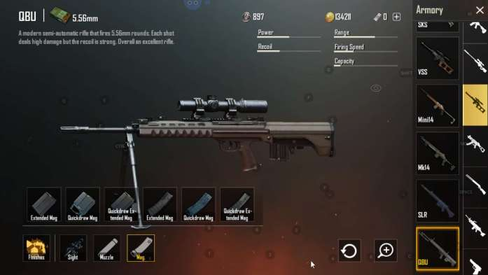 QBU DMRs found in Sanhok Only