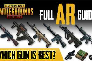Best AR in PUBG Mobile