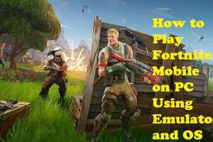 Fortnite Mobile Game on PC