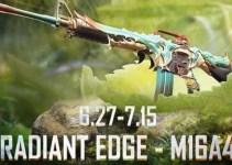 Pubg Mobile M16A4! Radiant Edge | M16 Upgrade Skin Pubg Mobile cool prizes,