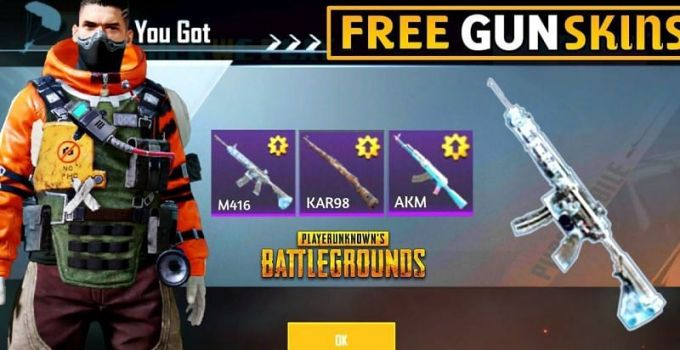 How to Get Free Skins in PUBG Mobile