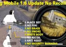 Pubg Mobile 1.6 Update No Recoil File 2021 Download 100% safe File