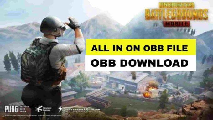 PUBG Mobile 1.6 Obb File Download 2021