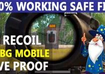 Zero Recoil Config PUBG MOBILE 1.6 Safe File 100% Working