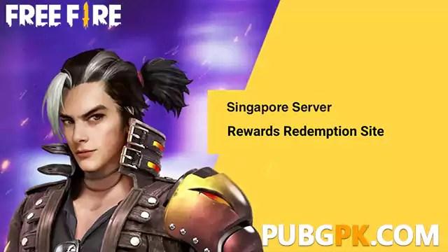 How to redeem Free Fire rewards Codes for Singapore Server
