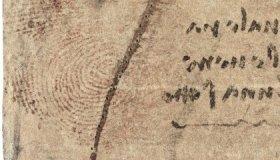 Revealed: Leonardo da Vinci's Reddish-Brown Thumbprint image