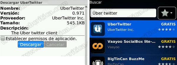 Uber twitter error validating twitter credentials inc