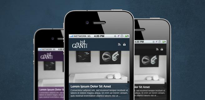 1stGiantLeap Mobile Template WordPress Edition