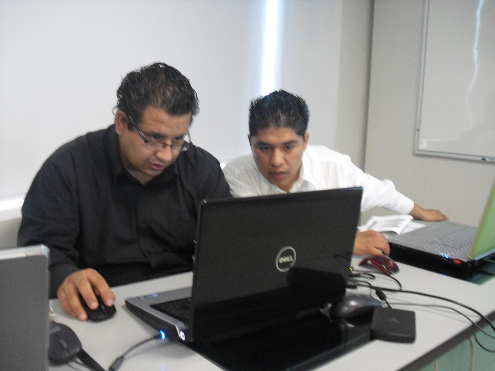 Preparando la presentacion