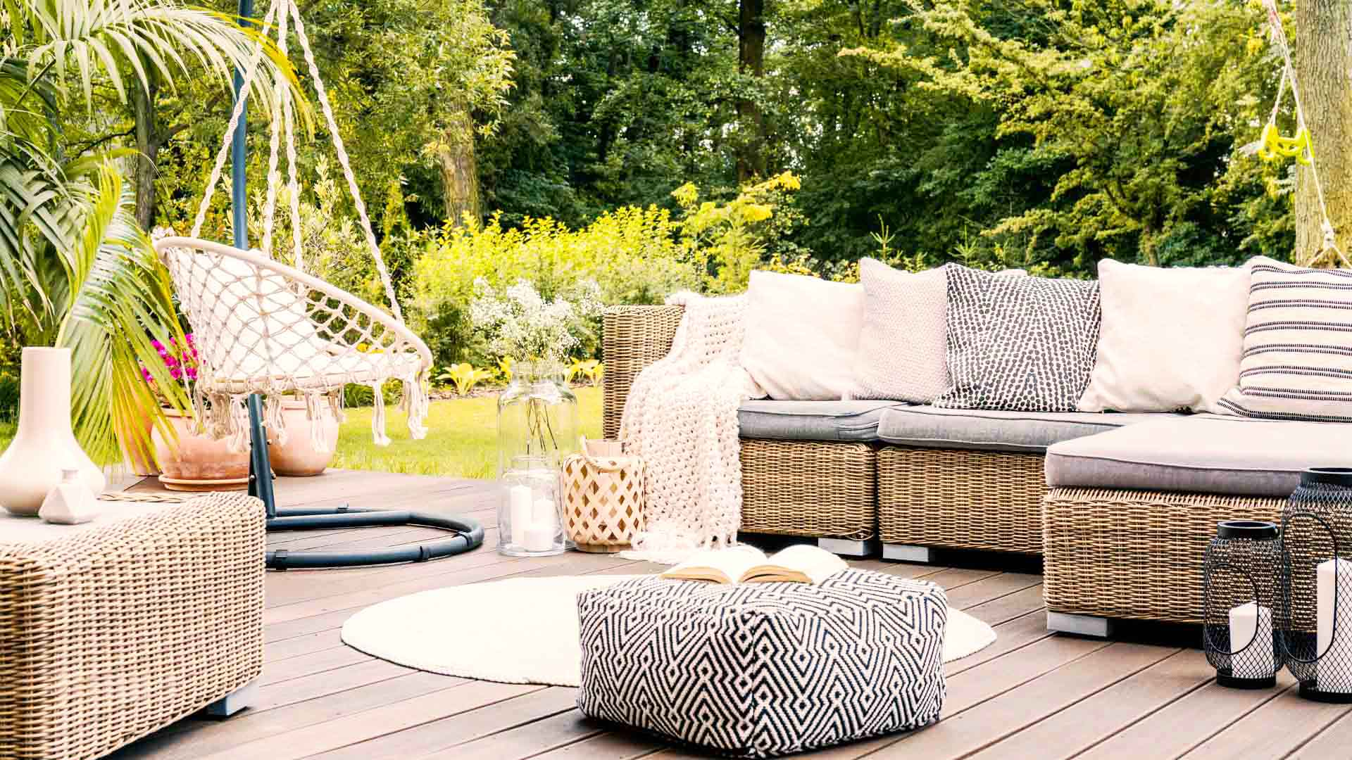 chic outdoor oasis patio ideas