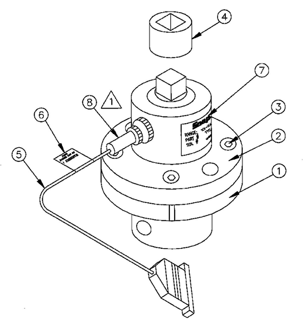 Transducer 4 50 In Lb 1 4 Drive