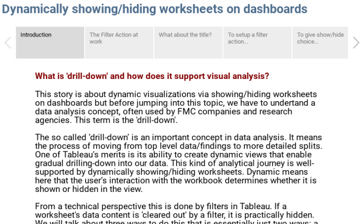 Dynamically Show Or Hide Worksheets