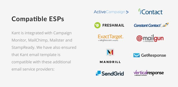 Kant - Responsive Email for Startups: 50+ Sections + MailChimp + Mailster + Shopify Notifications - 5