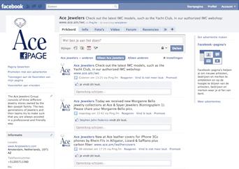 Ace Facebook Page