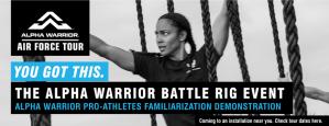 Air Force Alpha Warrior Tour