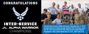 Inter-Service Alpha Warrior Battle