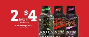Express - 5-hour Energy 2/$4