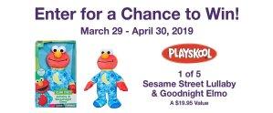 MOMC Sesame Street Lullaby Elmo Sweepstakes