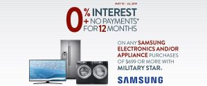MILITARY STAR Samsung Electronics and Major Appliances