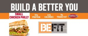 Charleys Build a Better You Chicken Philly