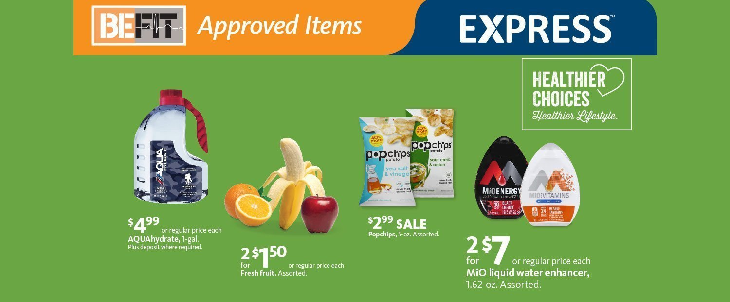 Express - BeFit Snack Options