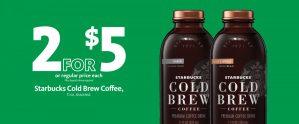 Express - Starbucks Cold Brew 2/$5