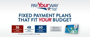 The New MILITARY STARY Pay Your Way Plan