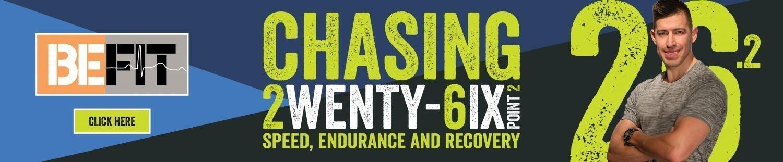 Chasing 26.2 - Roy Montez - Slim Banner