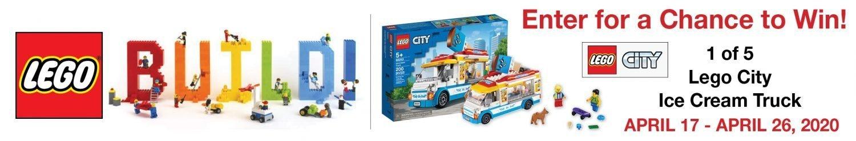 Lego Ice Cream Truck Sweepstakes