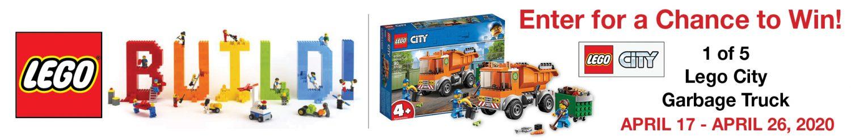 Lego Garbage Truck Sweepstakes