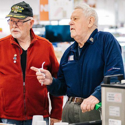 veterans shopping