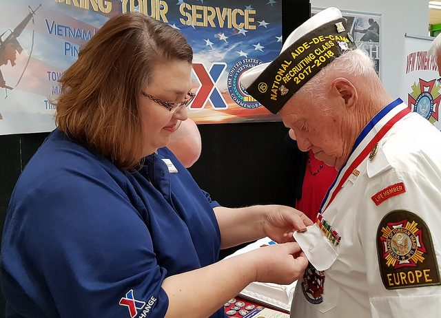 Army & Air Force Exchange Service Honors Sacrifices of