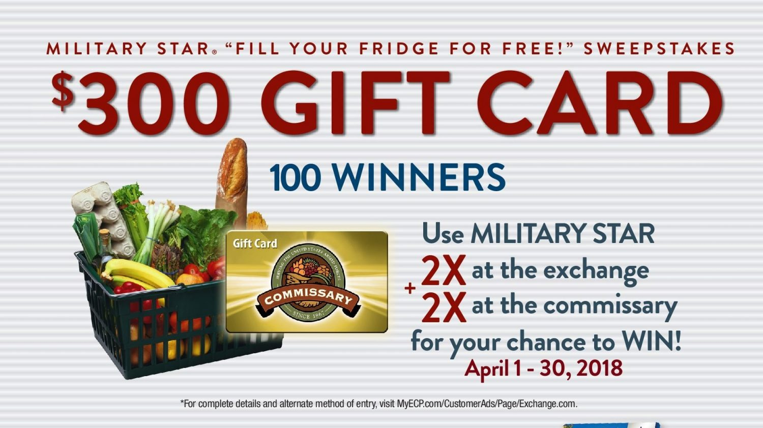 MILITARY STAR Card Helps Military Shoppers Fill Their Fridge for Free!
